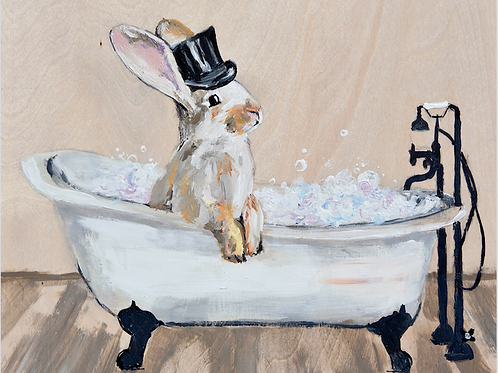 Bubble Bunny print