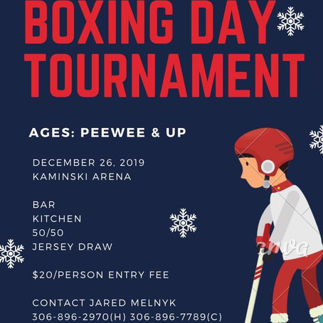Boxing Day Tournament