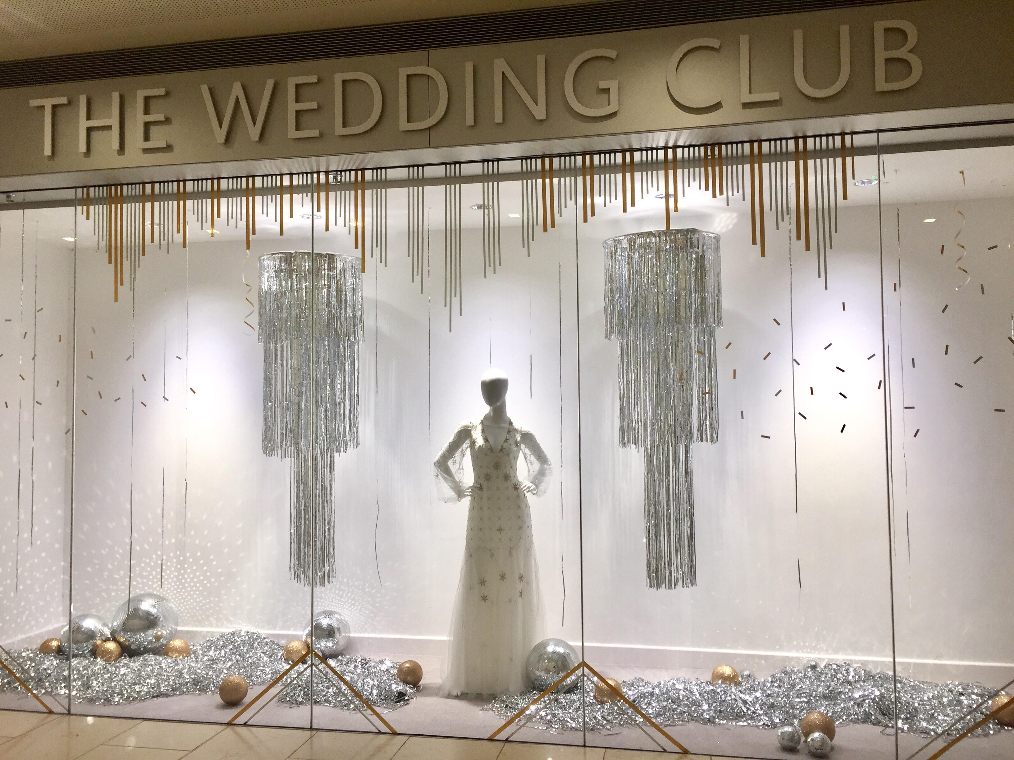 The Wedding Club Festive Display