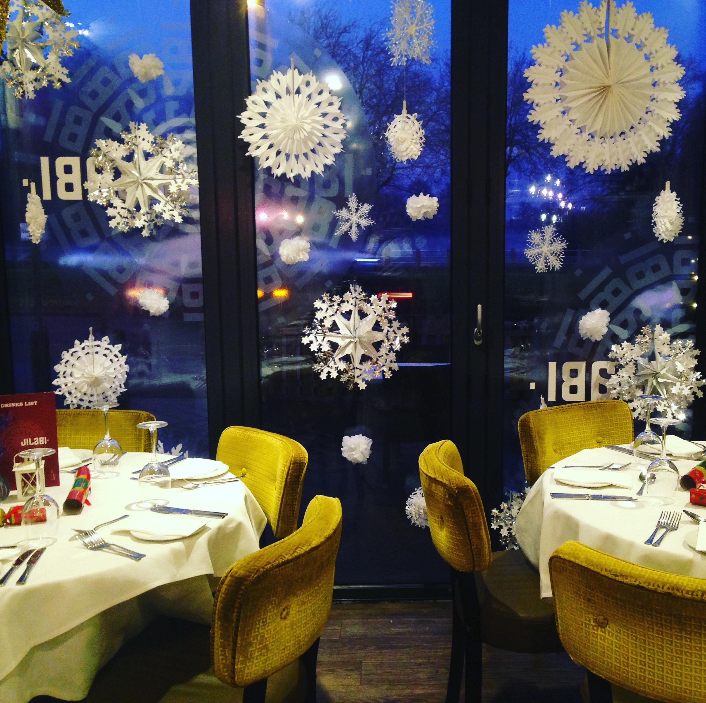 Jilabi Indian Restaurant Christmas