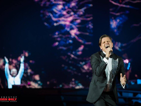 Live performance with AvB at the Amsterdam Arena