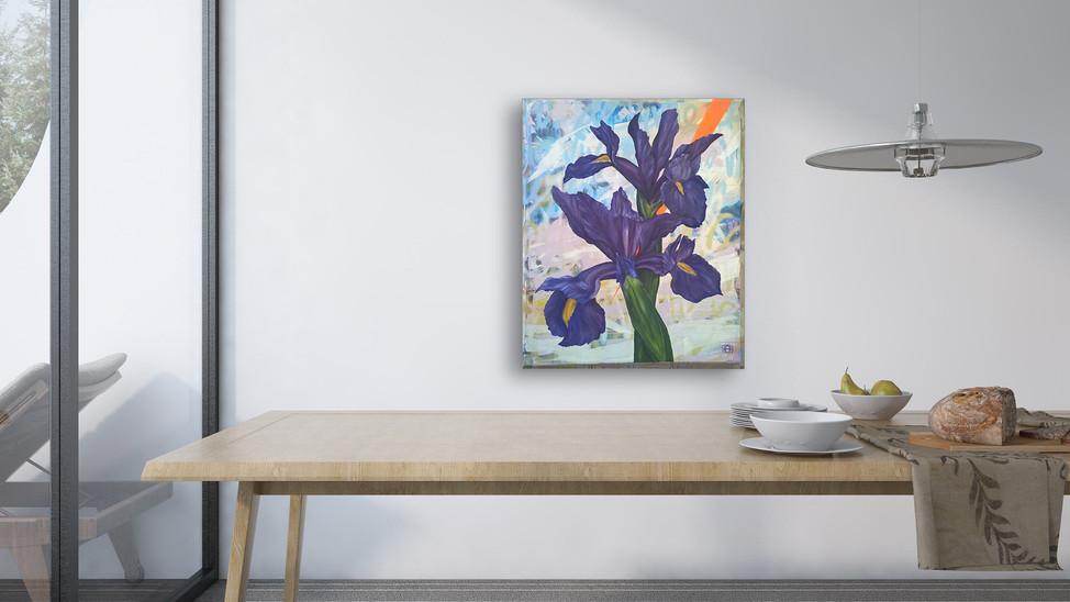 Joie De Vivre Irises