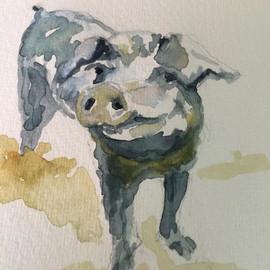 #Sophie #randomact #pig 🐷🐽🐷 #flowersf