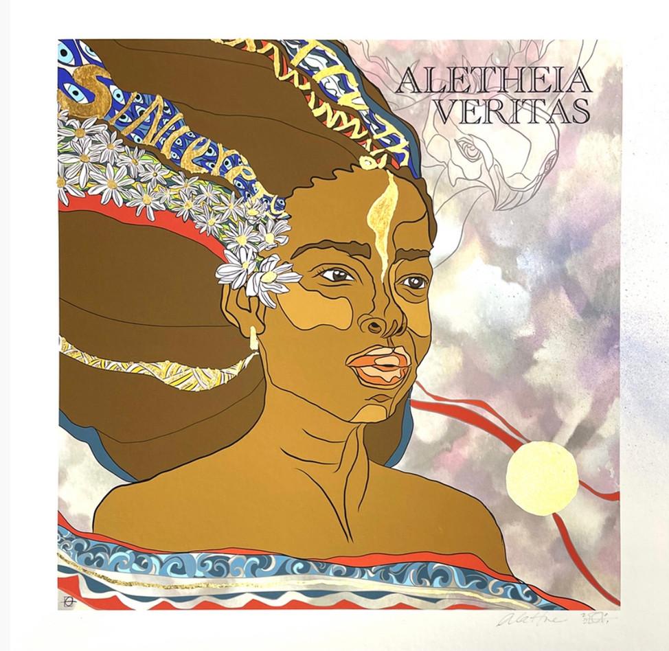 Aletheia Veritas, the Greek Goddess of Truth and Sincerity
