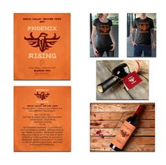 Phoenix Rising Branding alahue