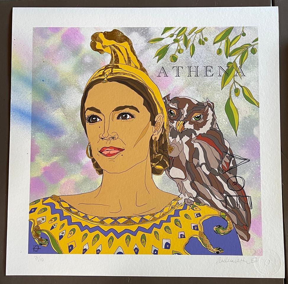 Athena, Greek Goddess of War, Strategy and Wisdom