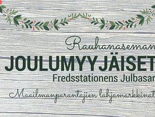 Tervetuloa 16.12. kello 11 Itä-Pasilaan Rauhanaseman odotetulle joulumyyjäisille!