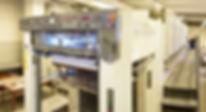 Komori 8 color printing press