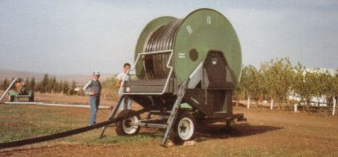 Italy: Hose reel irrigation