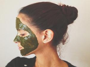 Homemade Neem gezichtsmasker