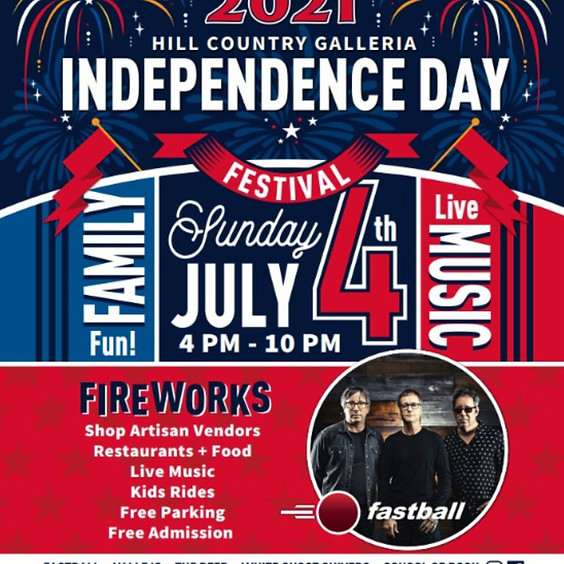 Hill County Galleria Independence Day Festival 2021