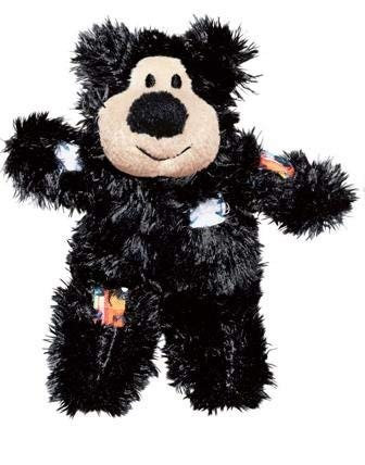 Kong softies - black bear