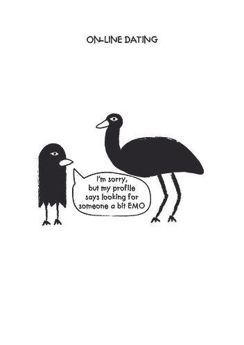 On-line dating emu card
