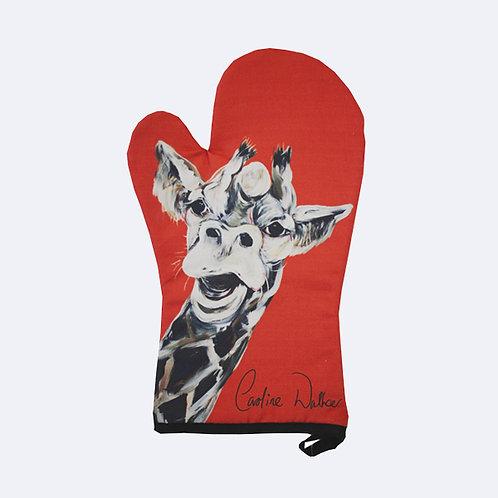 Giles Giraffe oven glove
