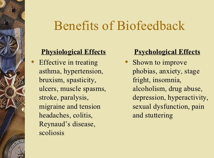 biofeedback therapy benefits