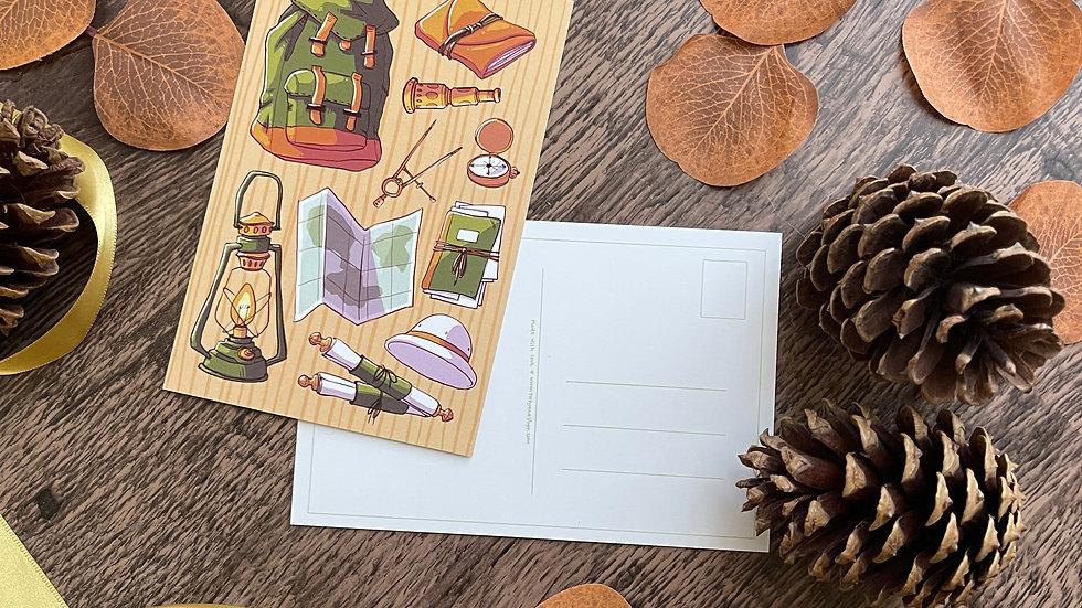 4x6 Postcard - Archeology Items