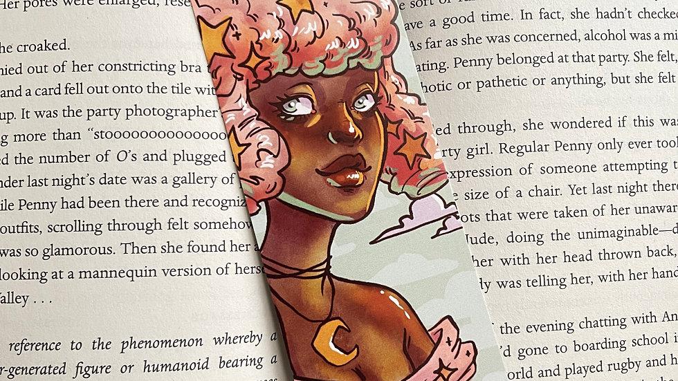Bookmark - Cotton Candy Star Portrait
