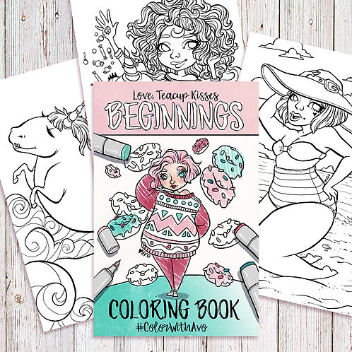 Coloring Book - Beginnings (23 Pgs)