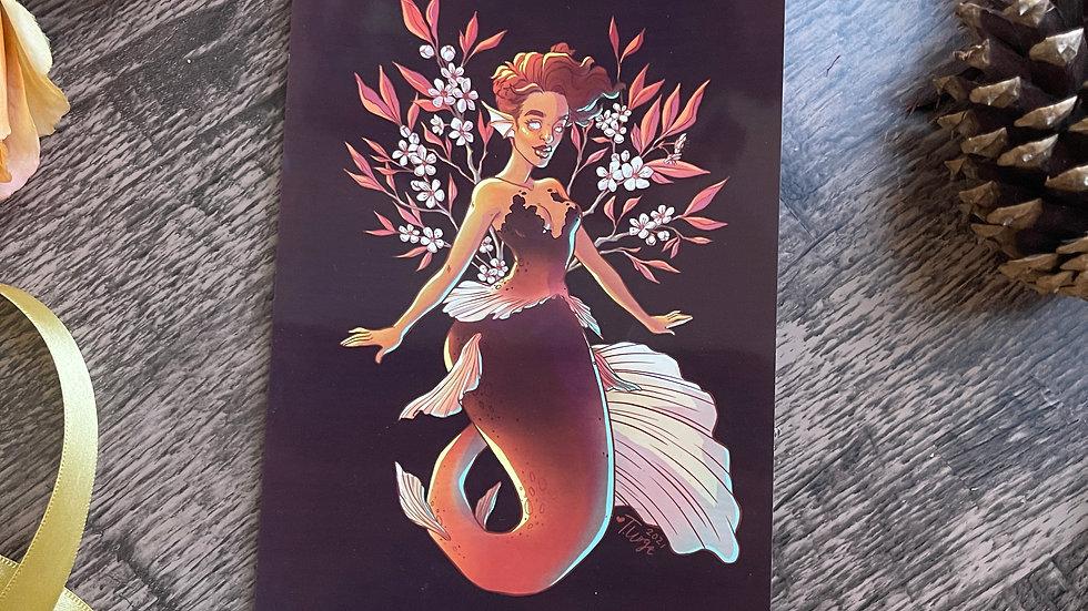5x7 Print - Prunus x Cistena Mermaid
