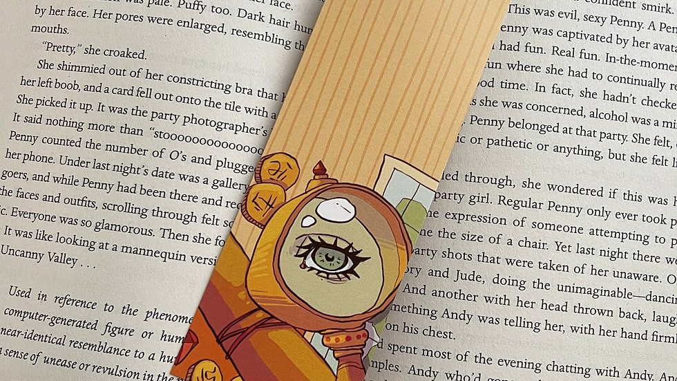Bookmark - Archeology Magnifying Glass