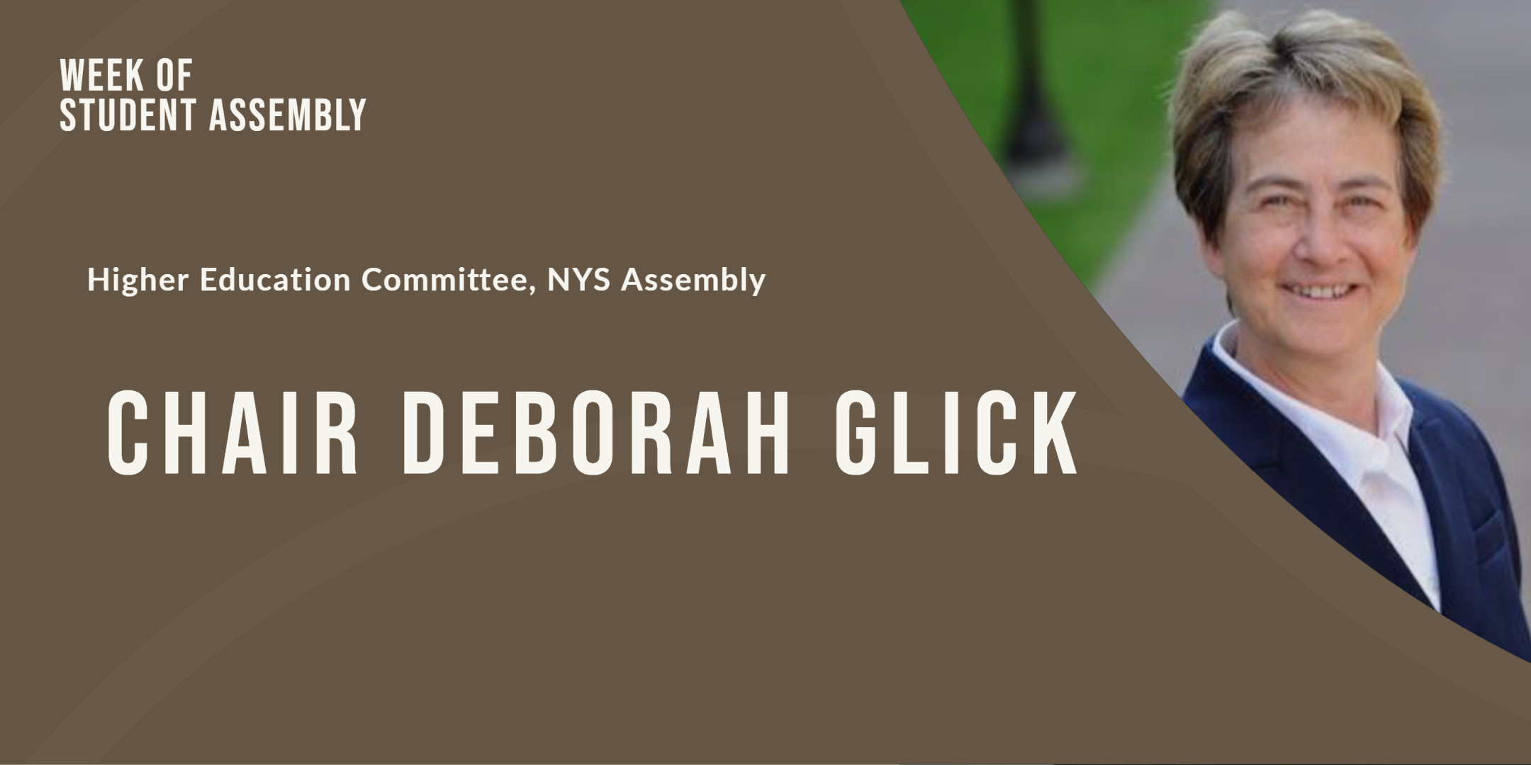 Chair Deborah Glick