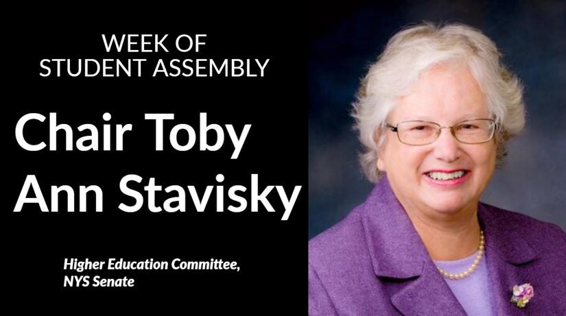 Chair Toby Ann Stavisky
