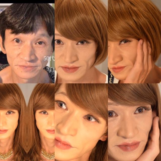 変身写真 | 日本 | 女装紳士