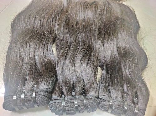 NATURAL SILKY STRAIGHT HAIR EXTENSIONS
