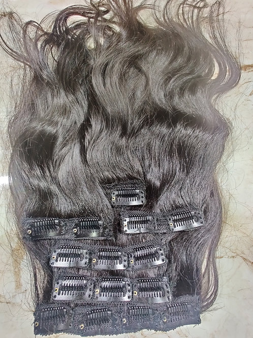 CLIP HAIR EXTENSIONS WAVY