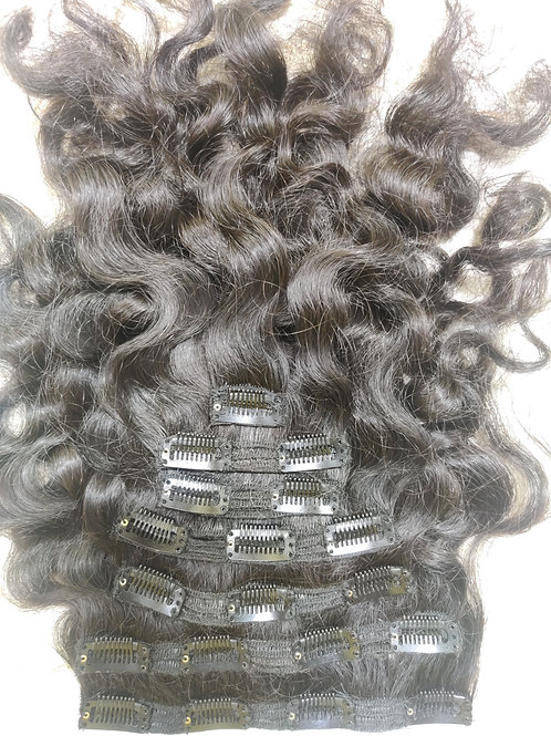 CLIP HAIR EXTENSIONS CURLY