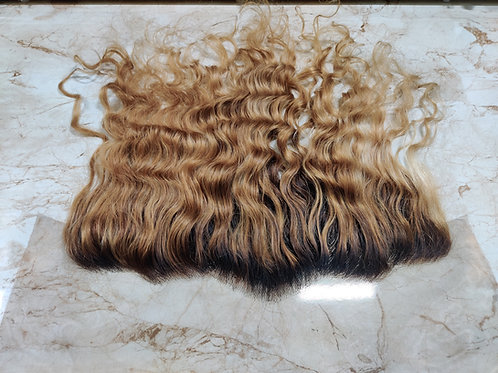 HONEY BLONDE WAVY HD LACE FRONTALS
