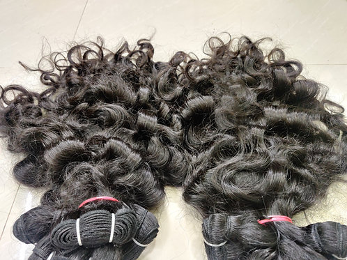 Natural Tight Curly Hair Extensions