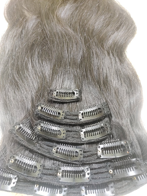 CLIP STRAIGHT HAIR EXTENSIONS