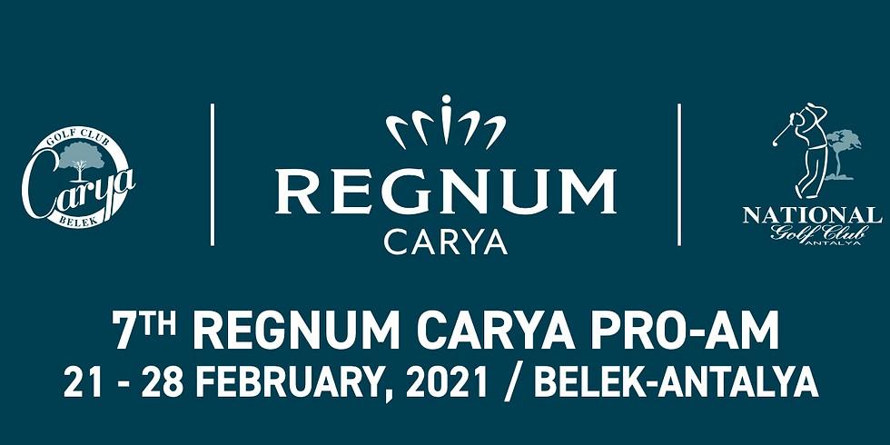 7th REGNUM CARYA PRO-AM