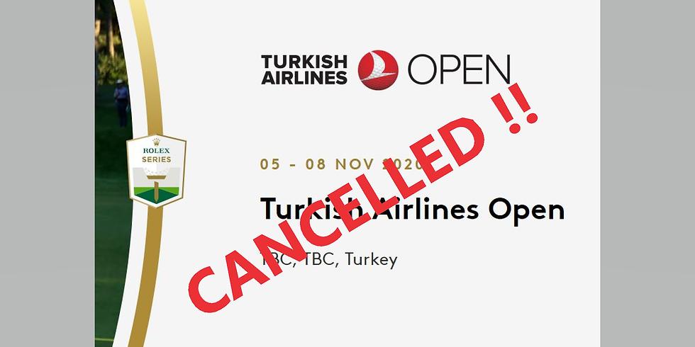 TURKISH AIRLINES OPEN 2020