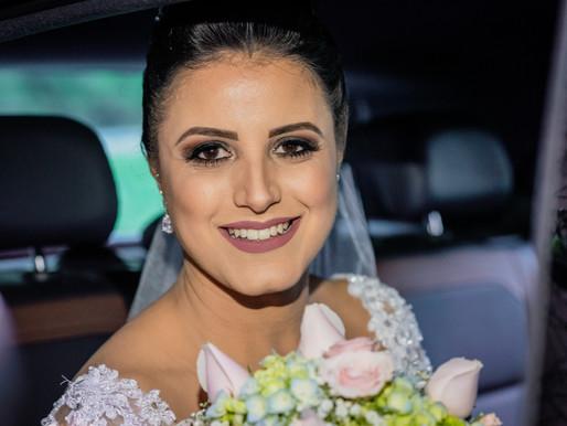 A Maquiagem da noiva