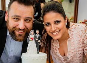 Casamento da Erika e do André
