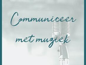 Muziek is een communicatiemiddel