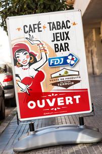 Affiche - Stop trottoir