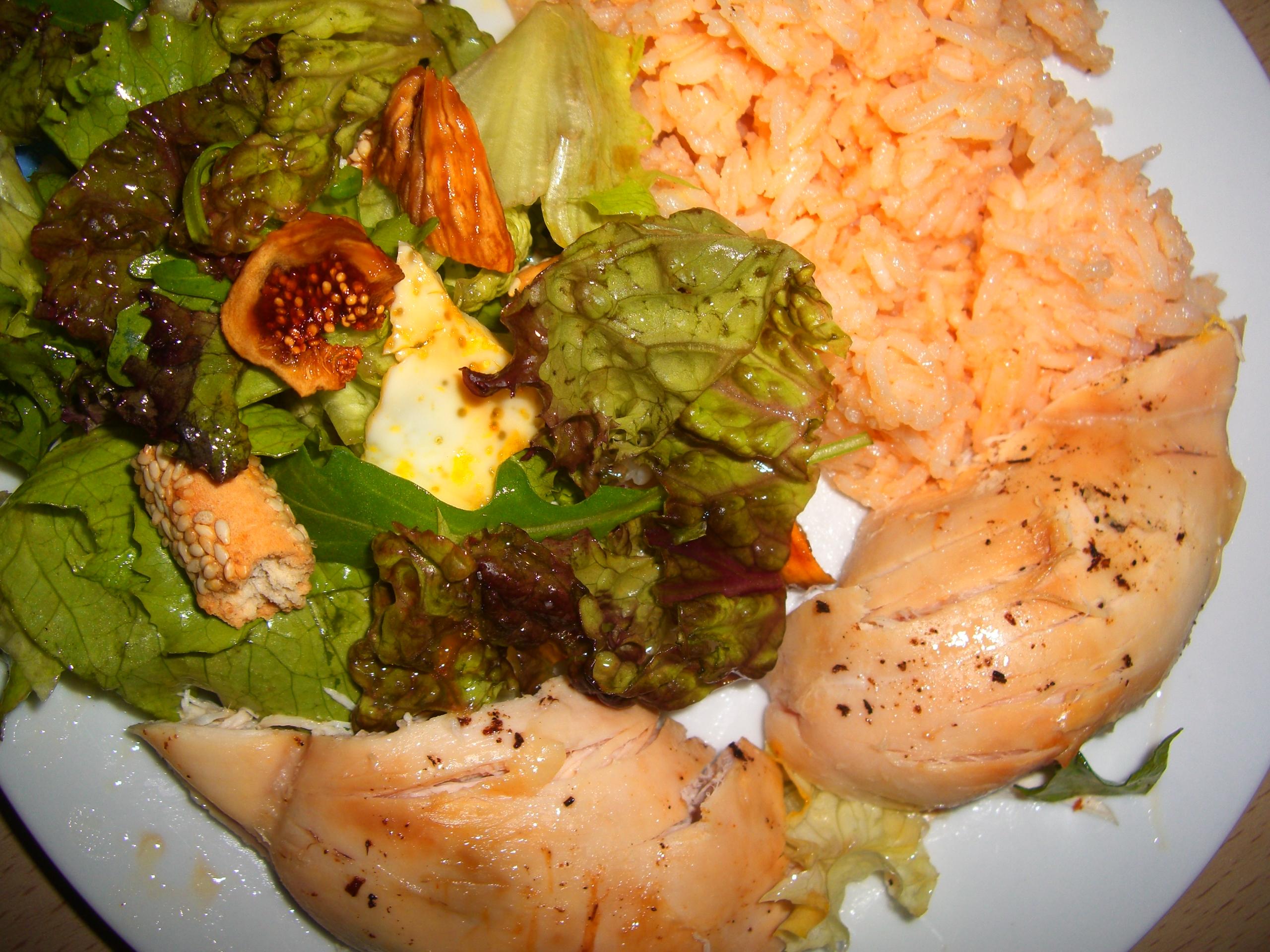 Πιάτο με κοτόπουλο