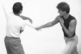 Dan Inosanto and Paul Vunak