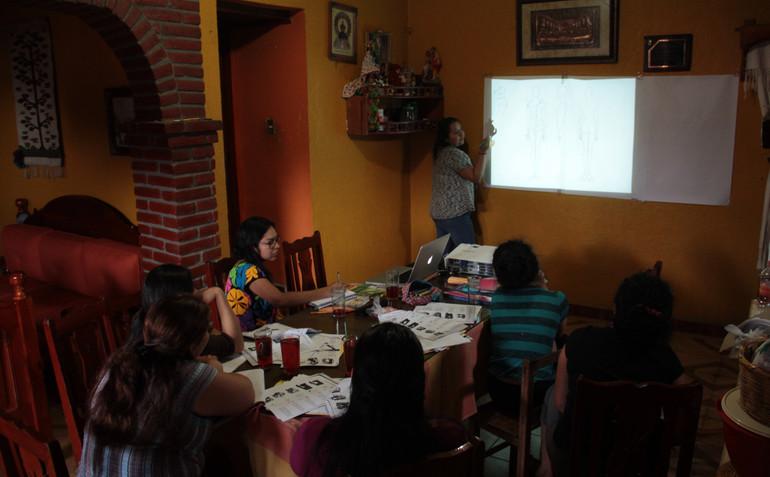 Reunión en San Juan Guichicovi
