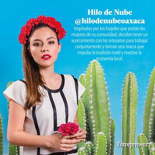 Huipil de cadenilla Oaxaca