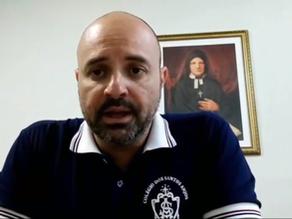 Mensagem do Sr: Vitor Dias - Colégio Santos Anjos - Planalto Paulista - Capital.