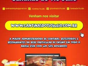 Novo site está no ar. Fique por dentro da rotina escolar e saiba tudo sobre alimentação saudável!
