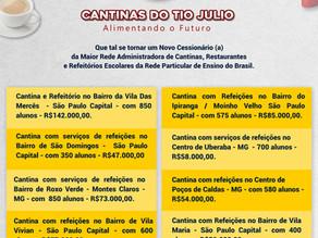 Oportunidades Cantinas do Tio Julio.