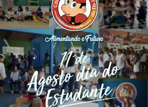 11 de Agosto. Dia do Estudante Cantinas do Tio Julio.