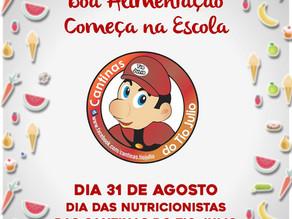 31 de Agosto: Dia do Profissional de Nutrição