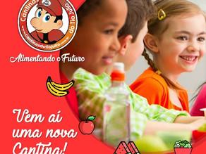 Cantinas do Tio Julio presente no Colégio N. Sra da Glória em Porto Alegre/RS