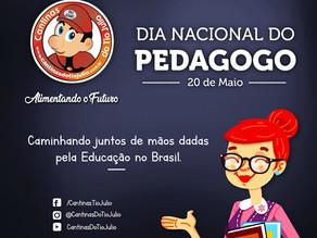 20 de Maio | Dia Nacional do Pedagogo